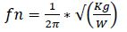 vibration_equation
